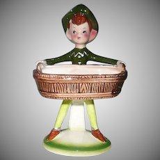 Enesco Green Elf Soap/Sponge Holder
