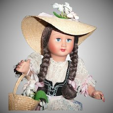 Beautiful Ratti Girl Doll from Italy