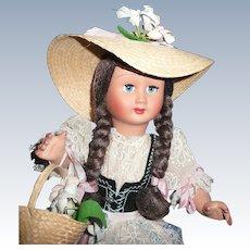 Beautiful Ratti Girl Doll from Italy