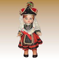 Vintage Spanish Doll 'Alcaldesa Zamarramala Segovia'