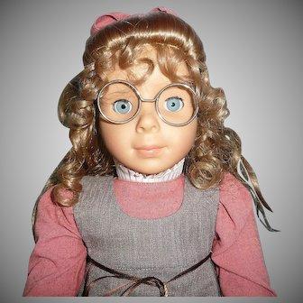 """2001 GOTZ Artist Elizabeth Cady Stanton Doll 19"""" ~Limited~Edition # 323"""