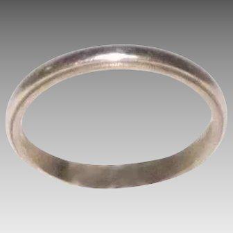 14 kt yellow Gold Wedding Band / Stacking Ring