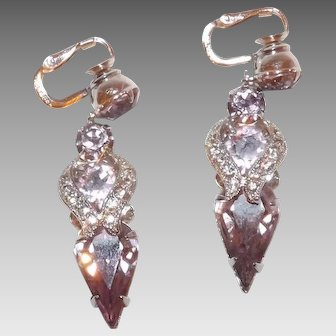 Eisenberg Dangle Earrings in Pastel Purple3
