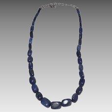 Jay King Lapis Lazuli Chunky Bead Necklace