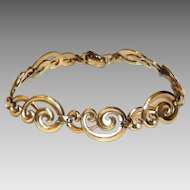 Wonderful WRE Gold Filled Swirls Bracelet