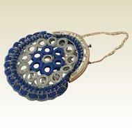 Elegant antique miniature French Fashion purse