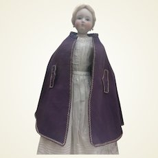 """Lovely summer cape for 22"""" French fashion doll"""