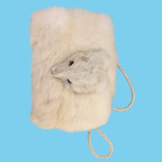 Gorgeous fur muff for large fashion or bebe