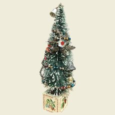 Miniature Antique Christmas tree for your doll display