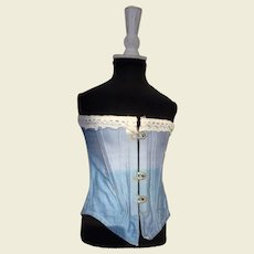 Large corset for French fashion doll