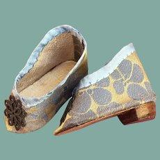 Charming artist silk shoes