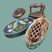 Group of antique accessories for your doll
