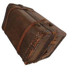 Small wooden trunk for you small French Fashion or bebe
