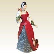 Royal Doulton porcelain figurine - Queen Anne Boleyn
