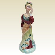 "Royal Doulton figurine ""Illustrious Ladies of the Stage"" - Ellen Terry by artist Peggy Davies"