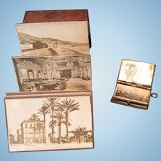 Two tiny picture albums for your french fashion