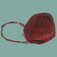 Red velvet bebe purse
