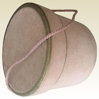 Lovely pink hat box
