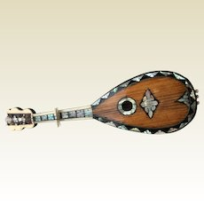 Fabulous rare mandolin for your fashion doll