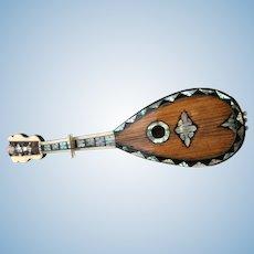 Fabulous rare mandolin for your fashion doll