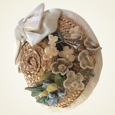 Charming spring hat for French Fashion