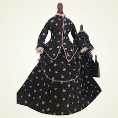 """Lovely Promenade  costume for 13"""" French Fashion doll"""
