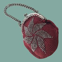 Stylish knitted purse for your larger French fashion