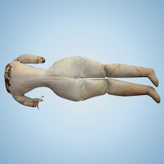Large antique body for China doll