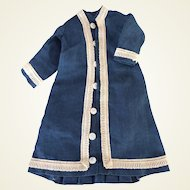 """Antique linnen dress for 13"""" French Fashion"""