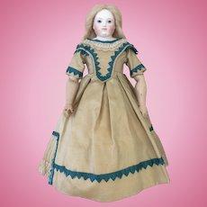 Stunning silk party dress for Huret, Rohmer or other poupee enfantine