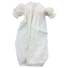 "Charming antique night dress for 22"" Fashion doll"