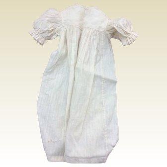 "Charming antique night dress for 22"" Fashion doll"