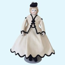 Artist Winter costume for poupee enfantine, Rohmer, Huret