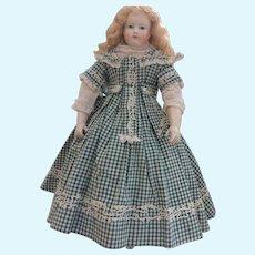 Summer dress with soutache for poupee enfantine, Huret, Rohmer, Barrois