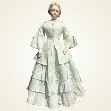"""Charming summer dress for 22"""" French fashion doll"""