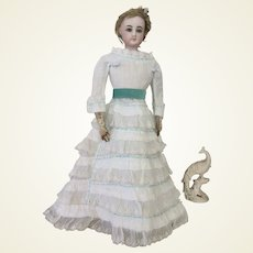 """Airy summer dress for 17 to 18"""" French fashion doll"""
