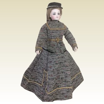 "Rare 13"" Marie Emmanuel Cruchet fashion doll known as baggy pants"