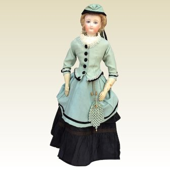 "Gorgeous 20"" Gaultier French fashion doll"