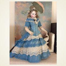 """13"""" Simonne French fashion doll wood body all original"""