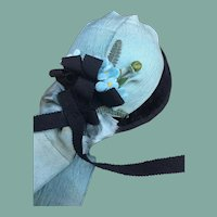 "Charming felt hat for 21/22"" French Fashion"