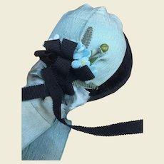 "Charming felt hat for 21/22"" French Fashion"