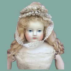 Adorable lacy hat for Huret, Rohmer French Fashion