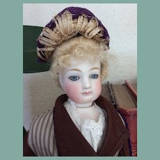 Charming little hat for small French fashion doll