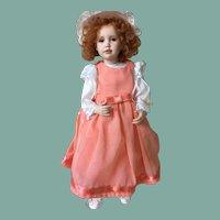 Leslie Ann, porcelain doll from Ann Timmerman
