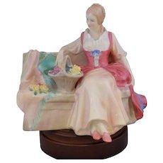 "Vintage Royal Doulton HN 2033 ""Midsummer Noon"" Bone China Figurine - Red Tag Sale Item"