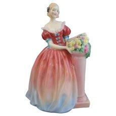 """Royal Doulton """"Roseanna"""" Figurine 8 1/2"""""""