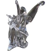 Baccarat Crystal Angel of Love Signed by Jean Boggio