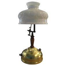 Vintage Coleman Insta-Lite Kerosene Table Lamp