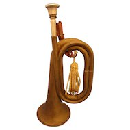 World War 1 1918 Military Wurlitzer Bugle Spec 1152