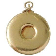 Antique 14K Solid Gold Cigar Cutter Pocket Watch Fob Charm / Pendant